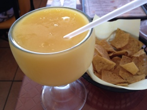 Mango Smoothie at the Salsas Restaurant