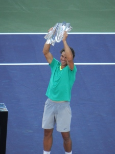 Nadal with 2013 Title