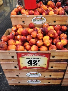 Nectarines at Sprouts